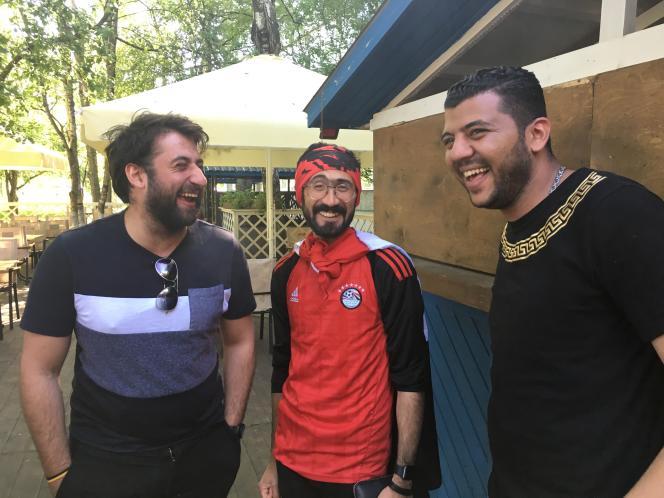 Karim le Jordanien, Karim l'Egyptien d'Assiout et Mohamed l'Egyptien du Caire.