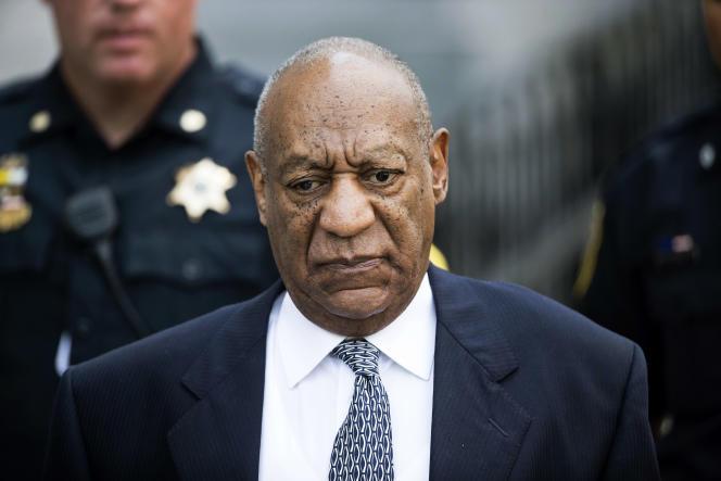 Bill Cosby au tribunal de Montgomery, en Pennsylvanie, en avril 2017.