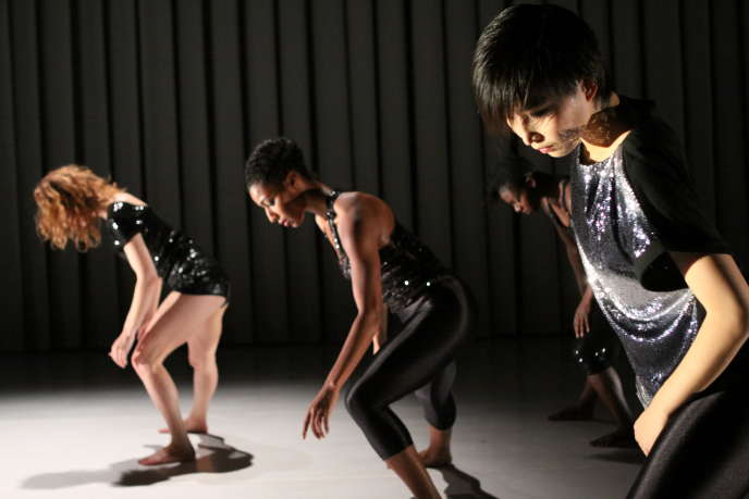 Rachelle Rafailedes, Rena Butler, Maleek Washington et Hsia-Jou Tang dans«Live! The Realest MC», deKyle Abraham.
