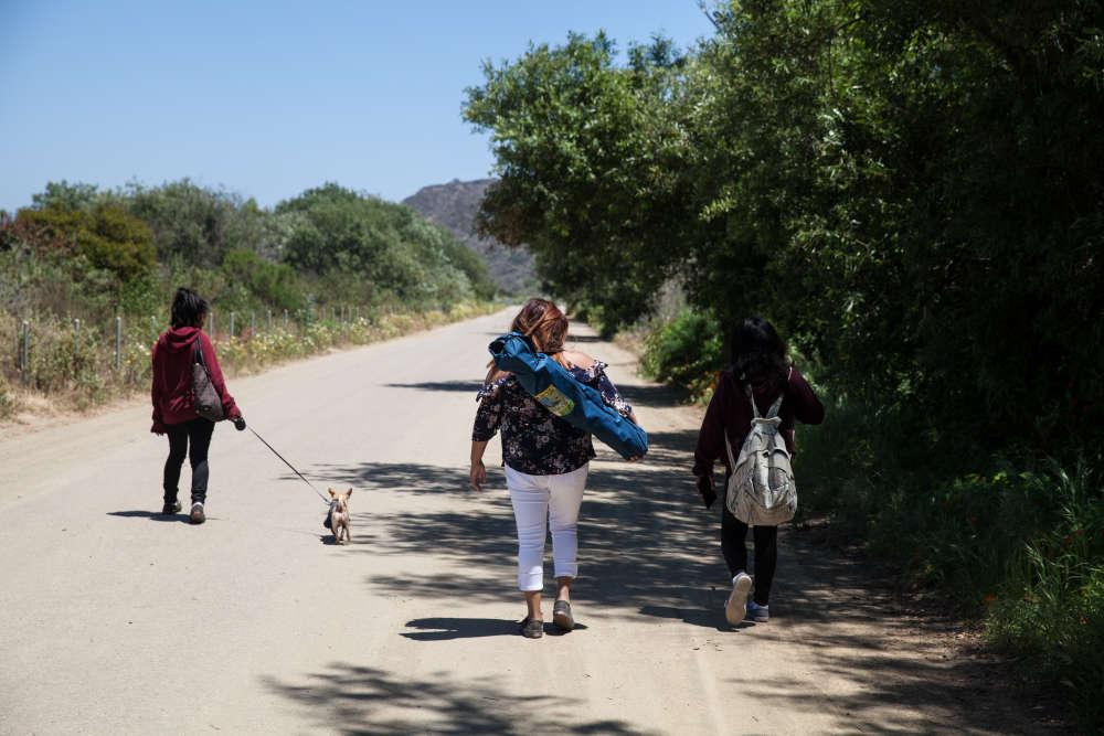 Gloria Apolinar rentre en Californie avec sa famille«américaine» après avoir vu sa petite-fille pour la première fois.