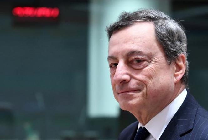Le président de la BCE, Mario Draghi, le 24 mai.