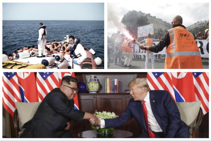 """""""Aquarius"""", réforme de la SNCF, sommet Trump-Kim…, les infos à retenir de la semaine."""
