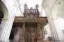 L'orgue del'abbaye de Saint-Michel en Thiérache (Aisne).