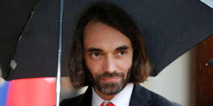 Le mathématicien Cédric Villani, au palais de l'Elysée, à Paris, en mai 2016.