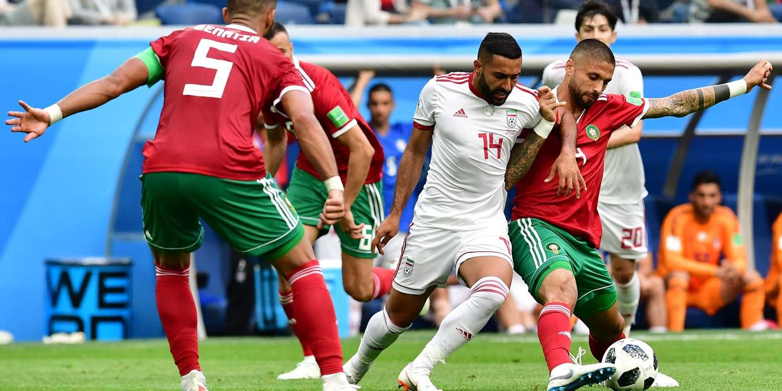 L'Iran a pris le dessus sur le Maroc.