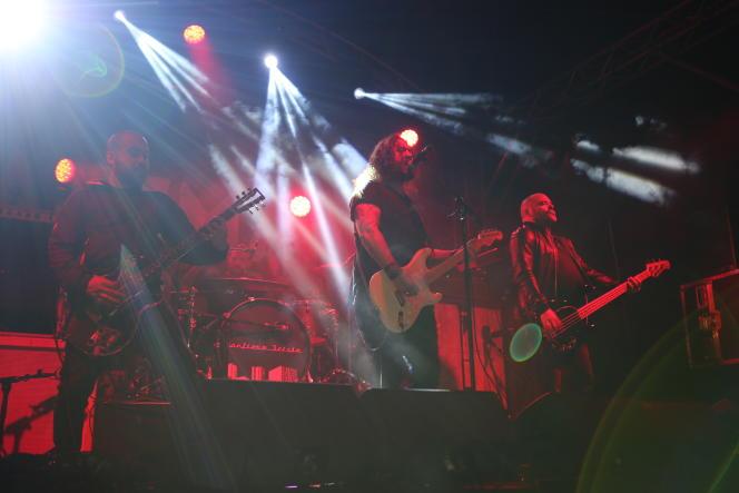 Hangman's Chair au Download Festival, en juin 2018.