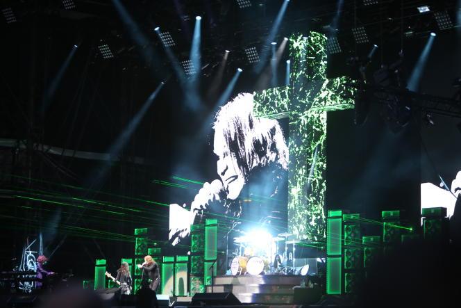 Ozzy Osbourne au Download Festival, en juin 2018.