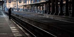 A la Gare de Lyon, à Paris, le 19 avril.