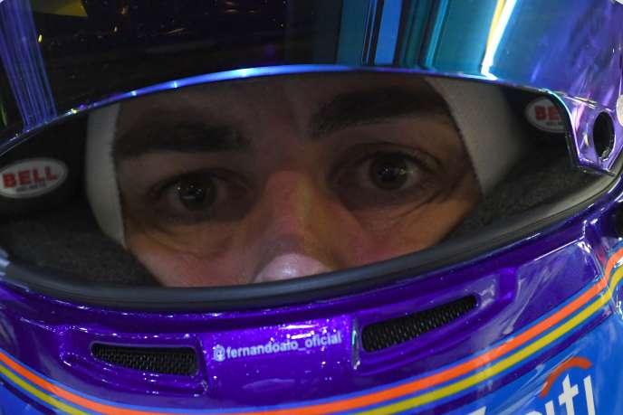 Fernando Alonso, vainqueur des 24 Heures du Mans le 17 juin.