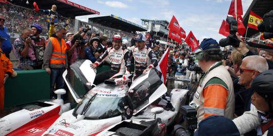 Toyota a remporté les 24 heures du Mans pour la première fois de son histoire.