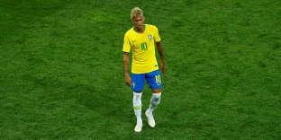 Neymar lors du match du Brésil face à la Suisse, le 17 juin.