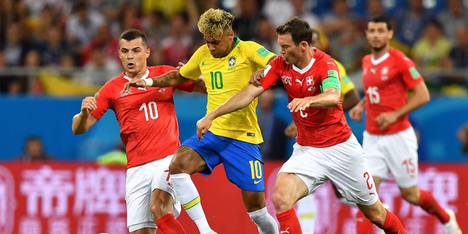 Neymar en difficulté.