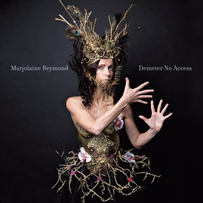 Pochette du nouvel album «Demeter No Access» de Marjolaine Reymond.