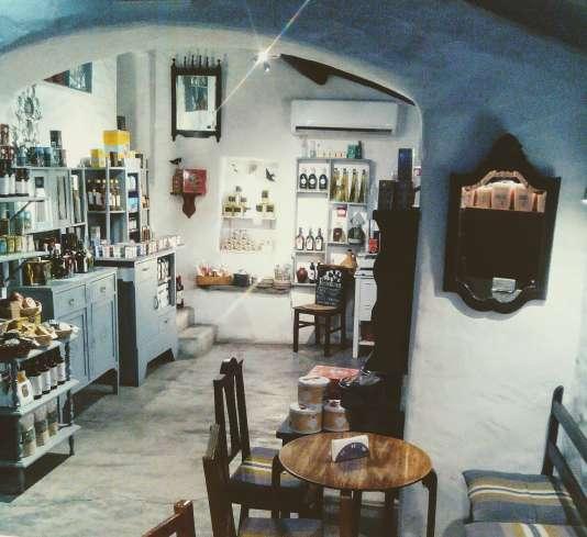 Le café-épicerie Casa Tial à Monsaraz.