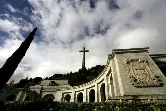 La Valle de los Caïdos, où sont entreposés les restes du dictateur Franco, en 2005.