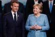 Le président français, Emmanuel Macron, et la chancelière allemande, Angela Merkel, lors du sommet du G7, au Canada, le 9 juin.