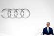 Rupert Stadler, à Ingolstadt en Allemagne, lors de la conférence annuelle d'Audi, le 15 mars.