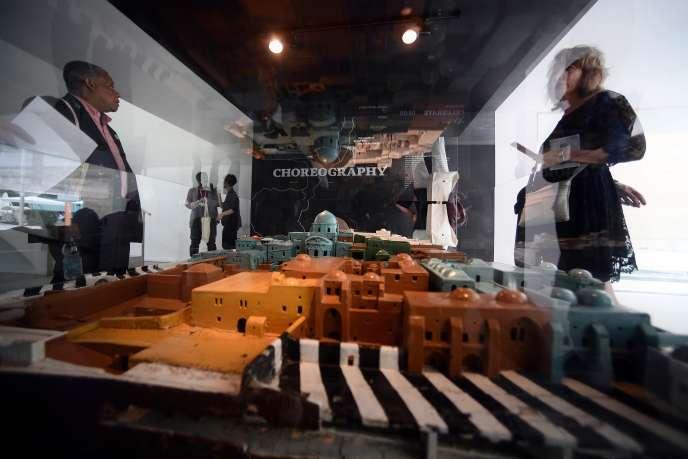 Vuede l'exposition «In Statu Quo» au pavillon israélien de la Biennale d'architecture de Venise, le 23 mai 2018.