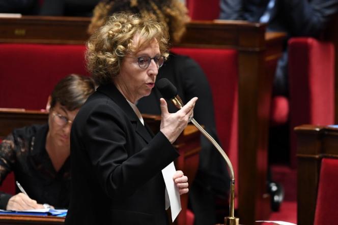 La ministre du travail, Muriel Pénicaud, à l'Assemblée nationale, àParis, le 20 mars.