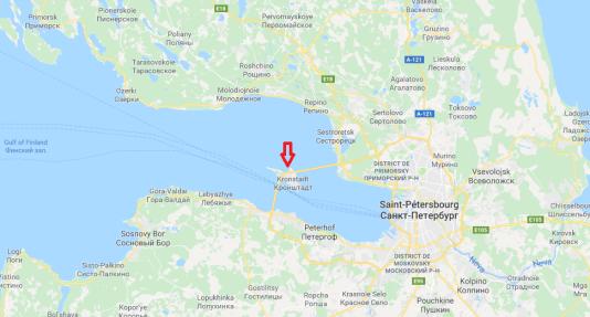 Direction générale des marins de Kronstadt.