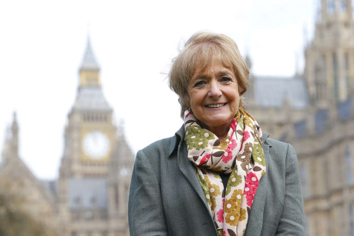 Margaret Hodge, à Londres, en avril 2013.