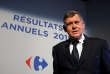 FILE PHOTO: Georges Plassat, then Chief Executive Officer of Carrefour, the world's second-largest retailer, poses before the company's 2015 annual results presentation in Paris, France, March 10, 2016.  REUTERS/Charles Platiau/File Photo