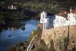 Le village de Mertola et son église-mosquée.