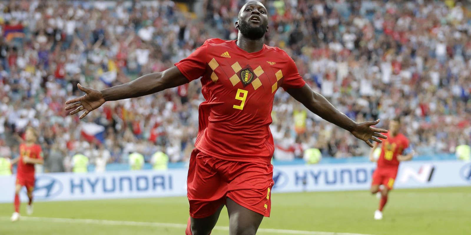 Romelu Lukaku a inscrit un doublé face au Panama, le 18 juin, à Sotchi.