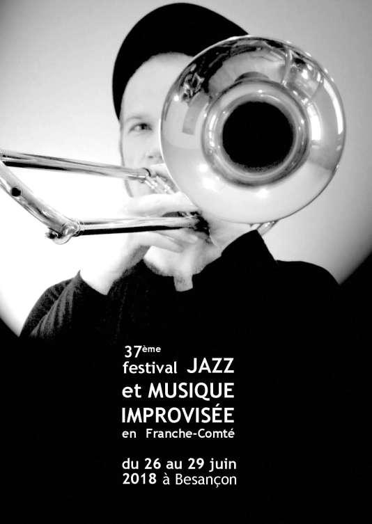 Affiche du festival Jazz et musique improvisée en Franche-Comté.