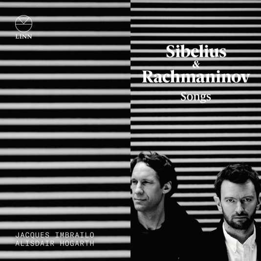 Pochette de l'album«Songs», mélodiesSibelius et Sergei Rachmaninov par Jacques Ambrailo (baryton) et Alisdair Hogarth (piano).