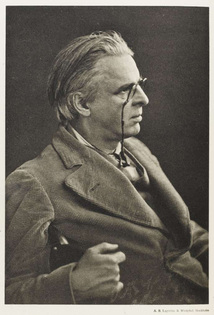 William Butler Yeats, photo non datée.