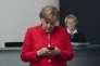 La chancelière allemande Angela Merkel, le 18 juin à Berlin.