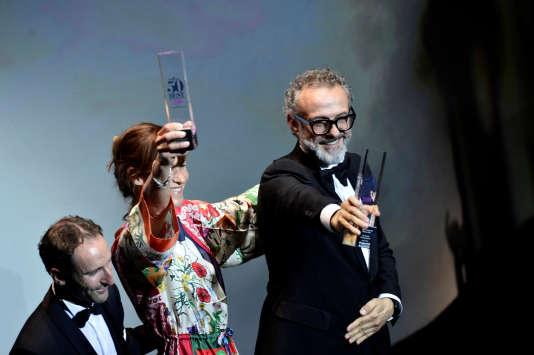 Massimo Bottura, le chef de l'Osteria Francescana, le 19 juin à Bilbao.