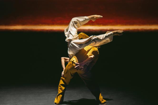 «Partita for 8 Dancers», une chorégraphie de Crystal Pite.