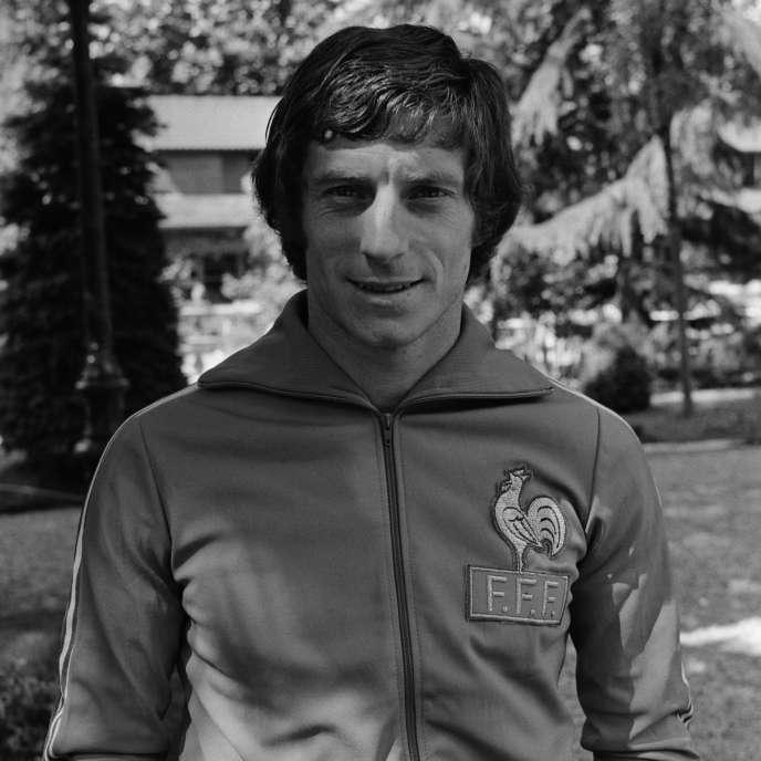 Jean-Michel Larqué, en 1976.