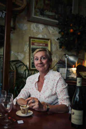 Claire Ballan, cliente du Mesturet, après ses « aubergines au chèvre»:« Le bistrot doit être simple, authentique, convivial, avoir une âme.»