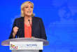 Marine Le Pen, à Nice, le 1er mai.