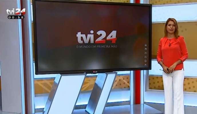 Journal télévisé de TVI24, l'une des chaînes payantes du groupe portugais Media Capital.