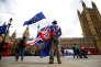 Devant le Parlement de Londres, le 19 juin.