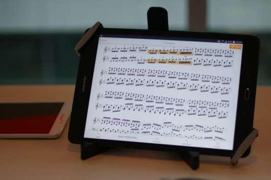 L'application NomadPlaypermet à tout musicien en herbe de se substituer virtuellement à n'importe quel instrumentiste d'un orchestre.