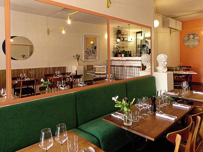 La salle du restaurant Ouréa a été conçue par Axel Chay, du studio Nova Obiecta.