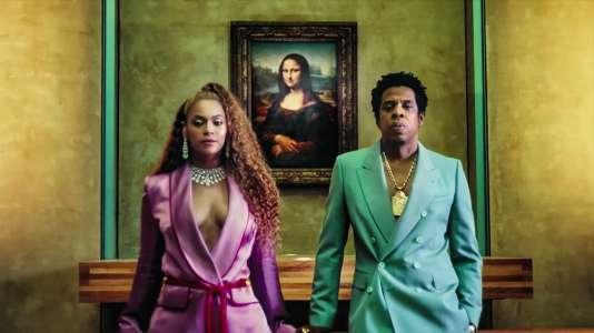 Capture d'écran du clip «Apeshit» de Beyoncé et Jay-Z, tourné au Musée du Louvre.