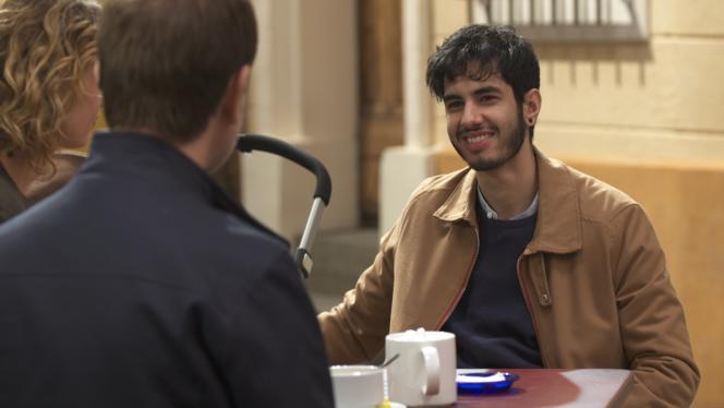Jonas dans le rôle de Dimitri dans «Plus Belle la Vie».