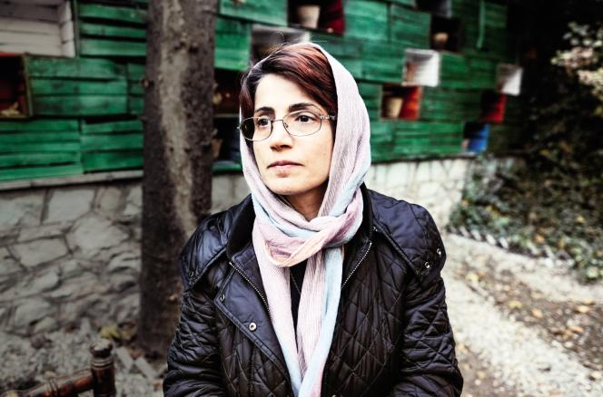Nasrin Sotoudeh, avocate iranienne.