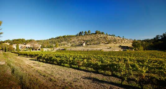 Le domaine de Miraval (Var), acquis en 2001 par les acteurs américains Brad Pitt et Angelina Jolie.