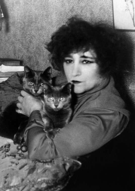 L'écrivaine Colette, en 1937.