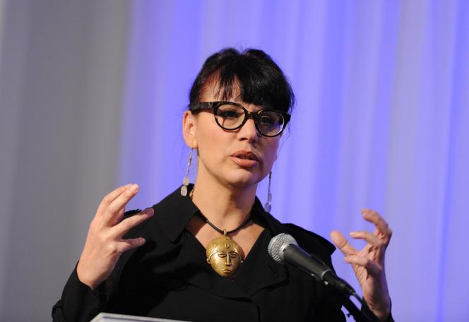 Nathalie Bondil, en octobre 2013 à New York.