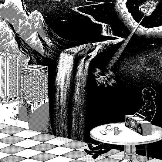 Pochette de l'album «Babelsberg» de Gruff Rhys.