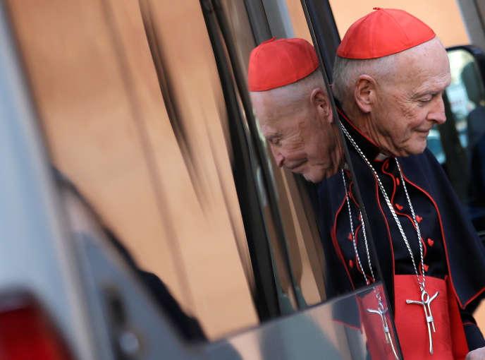 Le cardinalTheodore McCarrick au Vatican, en mars 2013.