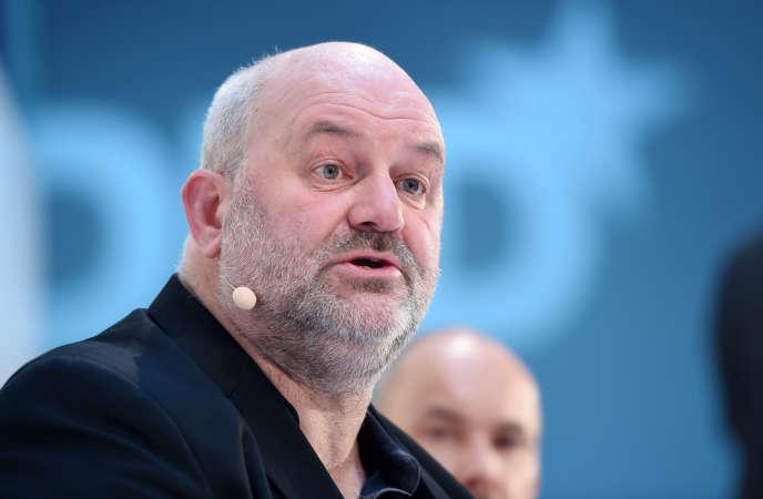 Werner Vogels, vice-président d'Amazon, le 18 janvier 2016 à Munich.
